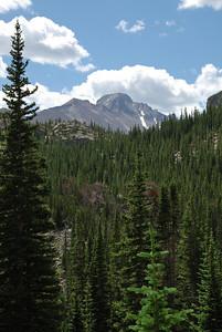 Such as this one of Longs Peak.