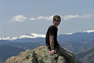 Greyrock Trail, Colorado, May 11, 2008