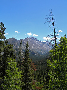 Another view of Longs Peak further up the trail.  I have, umm, many photos of Longs : )