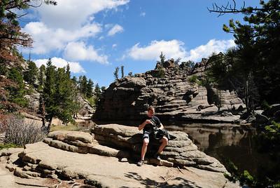 Hiking Lumpy Ridge with Will, RMNP, May 30, 2010