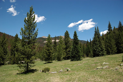 Not much to see anymore, but there are some great meadows for taking a lunch break.