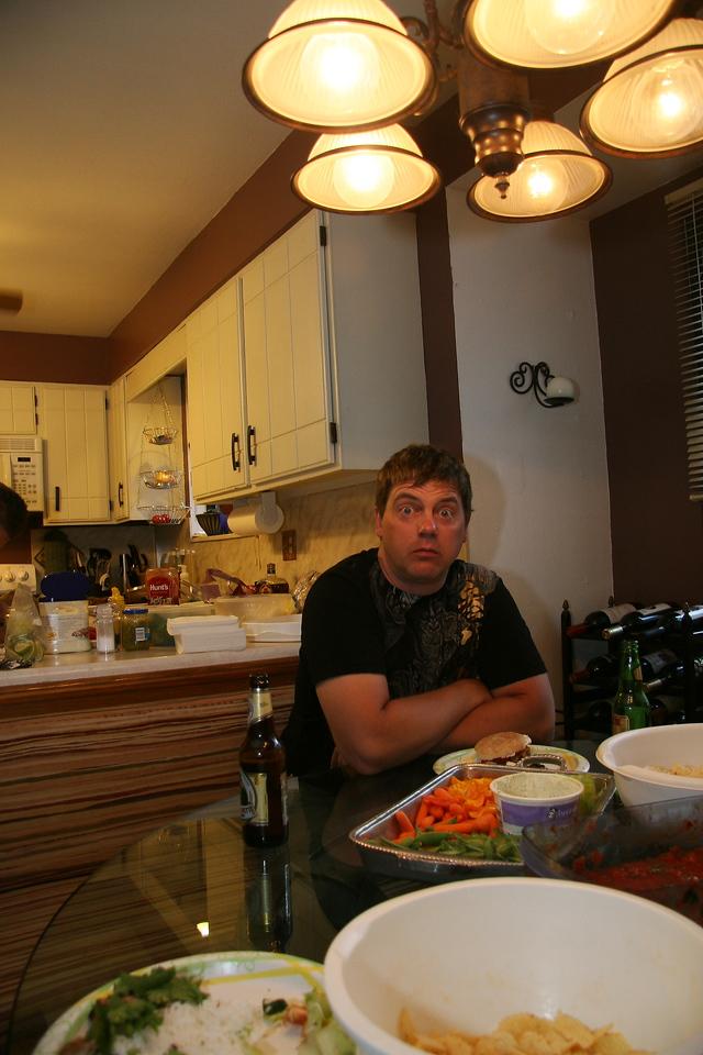 A sober Kevin Mock.
