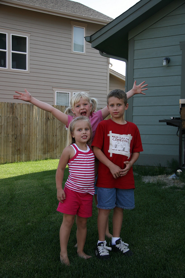 Kalie and Ryan Rinhart with Cassidy Brebner.