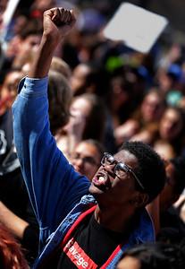 East High School Gun Protest Walkout