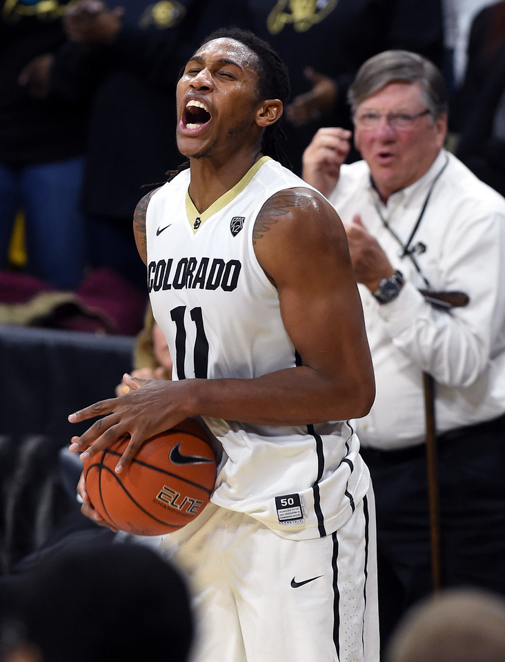 Colorado Oregon NCAA Men's Basketball