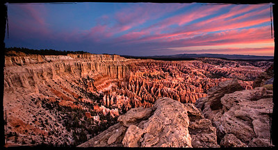 Sunrise at The Ampitheatre - Bryce Canyon National Park, Utah - Ray deBosch - October 2012