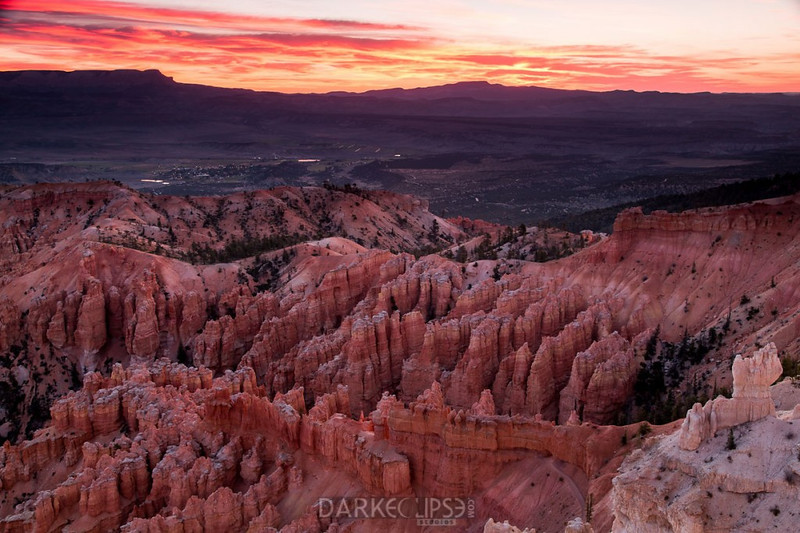 Sunrise at Bryce Point - Bryce Canyon National Park, Utah - Dennis Krukover - October 2012