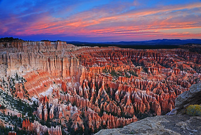 Sunrise on the Hoodoos at the Ampitheater - Bryce Canyon National Park, Utah - Ed Lower - October 2012