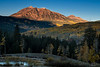 Sunrise on East Beckwith Peak - Kebler Pass Road, Colorado - Dennis Krukover - September 2012