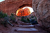 Filling the Arch - Arches National Park, Utah - Sandy Reed - October 2012