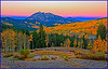 Sunrise on East Beckwith Peak - West Elk Mountains, Colorado - Don Plocher - September 2012
