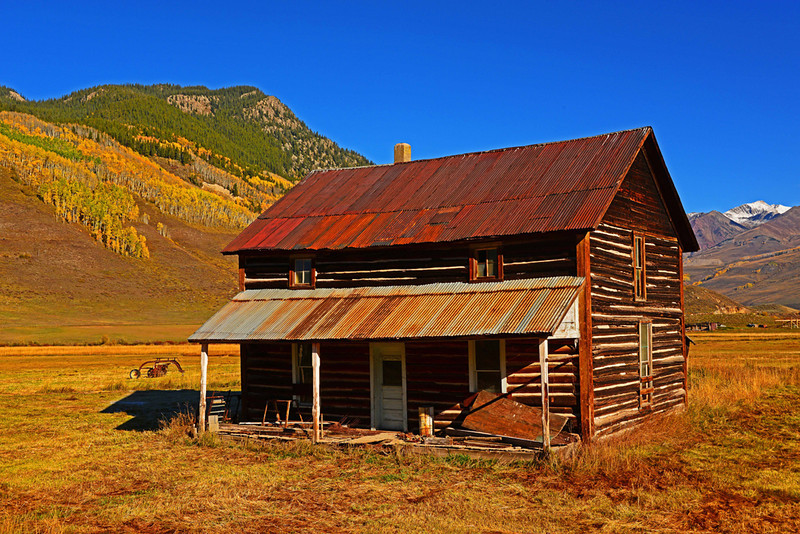 Brush Creek Homestead - East River Valley, Crested Butte, Colorado - Ed Lower - October 2012