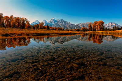 Teton Reflection II: Grand Teton National Park