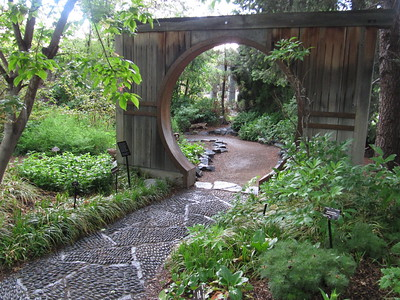 Entry to the Japanese Garden