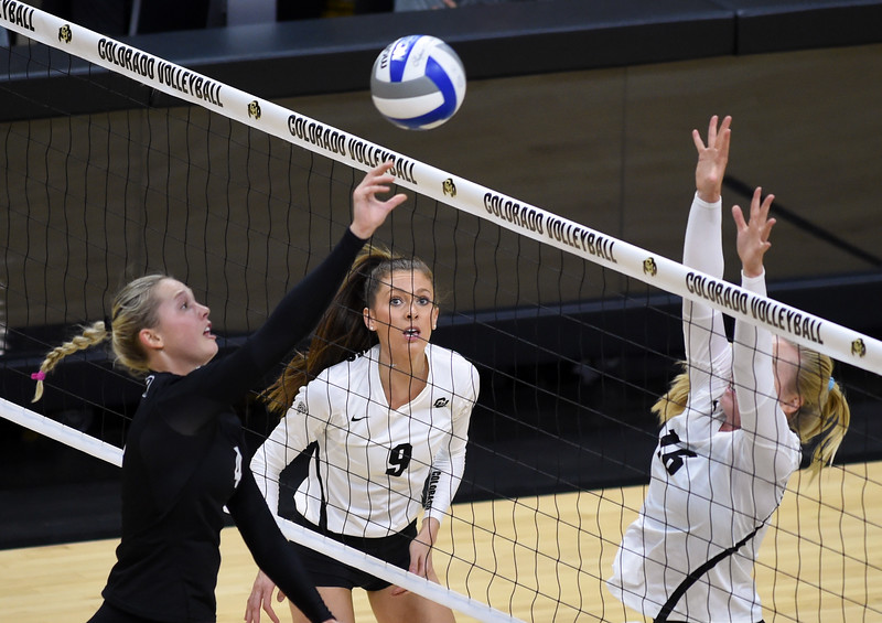 CU Vball Black & Gold Game
