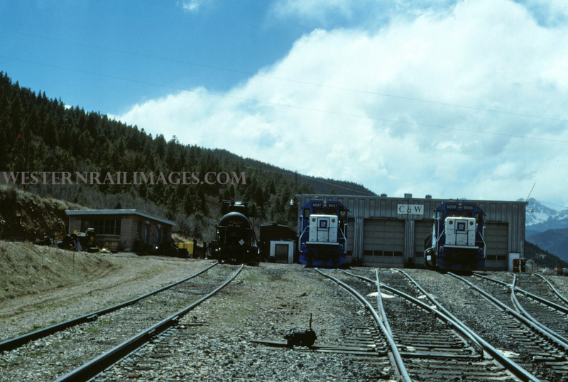 C&W 13 - May 1 1988 - Engine Terminal @ Allen Mine COLO