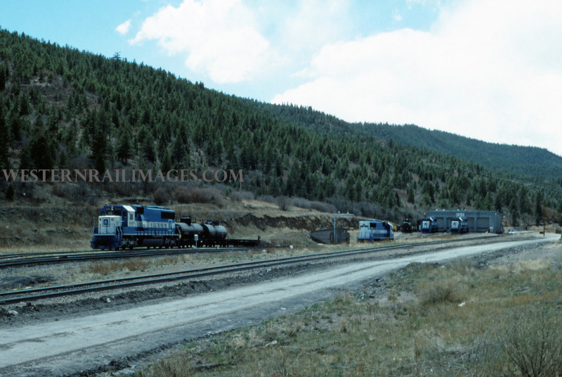 C&W 12 - May 1 1988 - Engine Terminal @ Allen Mine COLO