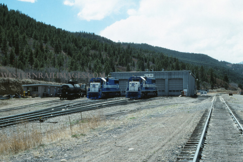C&W 13 - May 1 1988 - Engine Terminal @ Allen Mine - COLO