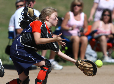 Parker Orange vs Centennial Crush - U10 Centennial Babe Ruth Softball Tournament - 06/27/09
