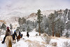Riders in Snow,Lost Valley Ranch_10-19©DonnaLovelyPhotos com  -2653
