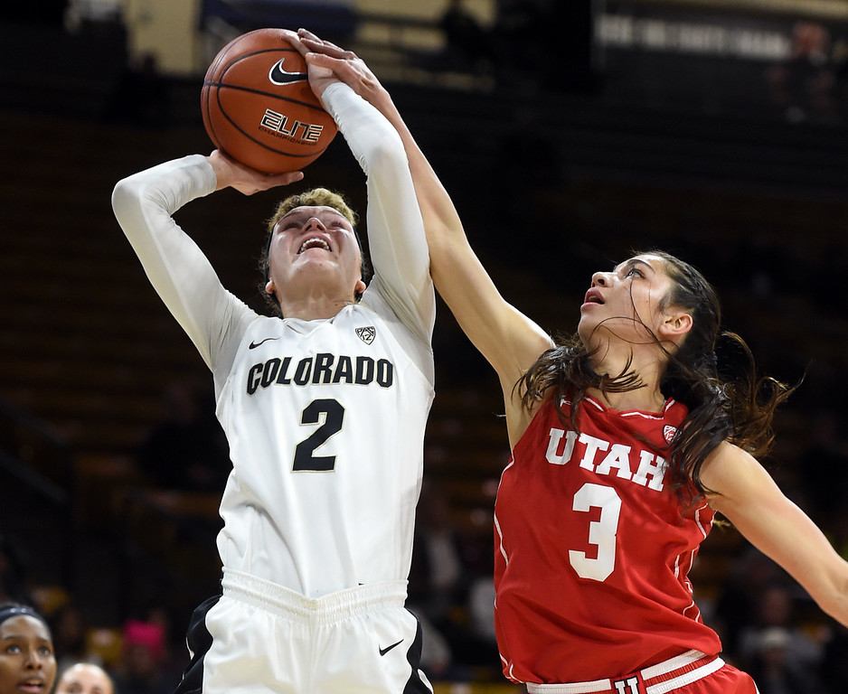 Colorado Utah NCAA Women's Basketball