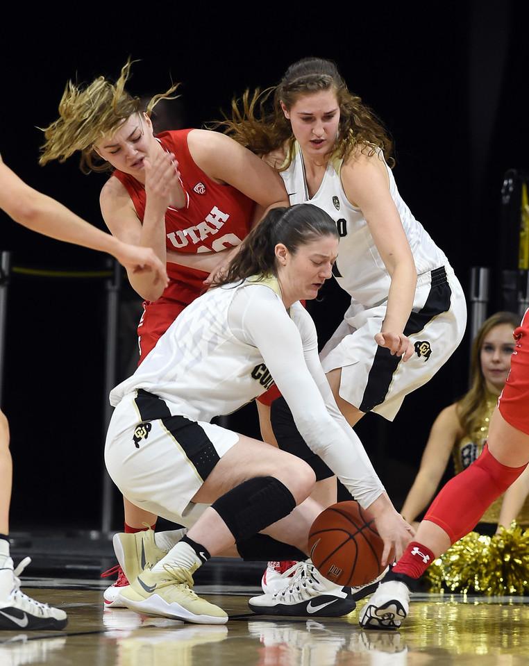 Colorado Utah NCAA Women's Basketball