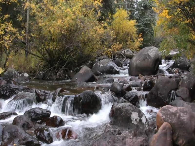 Stream in Rocky Mountain National Park, Colorado.