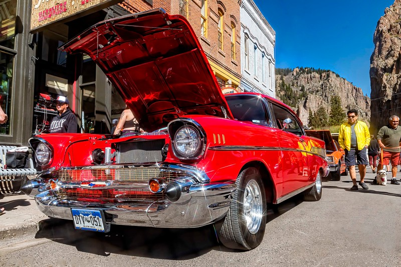 'Shiny Road Steel' - 1957 Chevy Bel Air