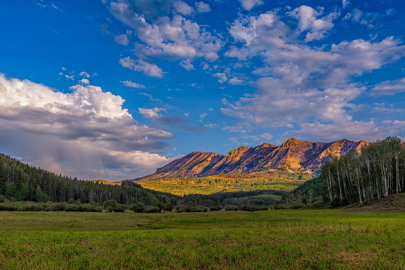 Anthracite Range/Ohio Peak (12,385 feet) - Ohio Creek Valley, Gunnison Co, CO