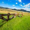 Castleton Ranch - The Castles Peak - Ohio Creek Vally, Gunnison Co, CO