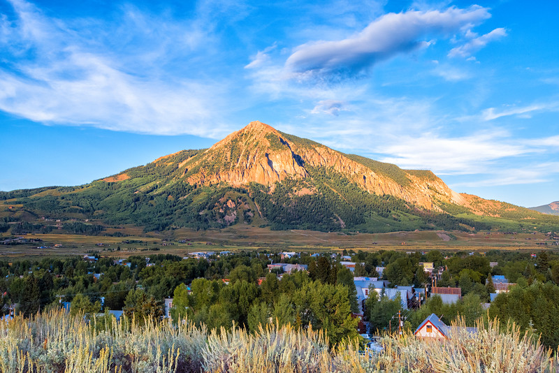 'The Butte at Dusk'