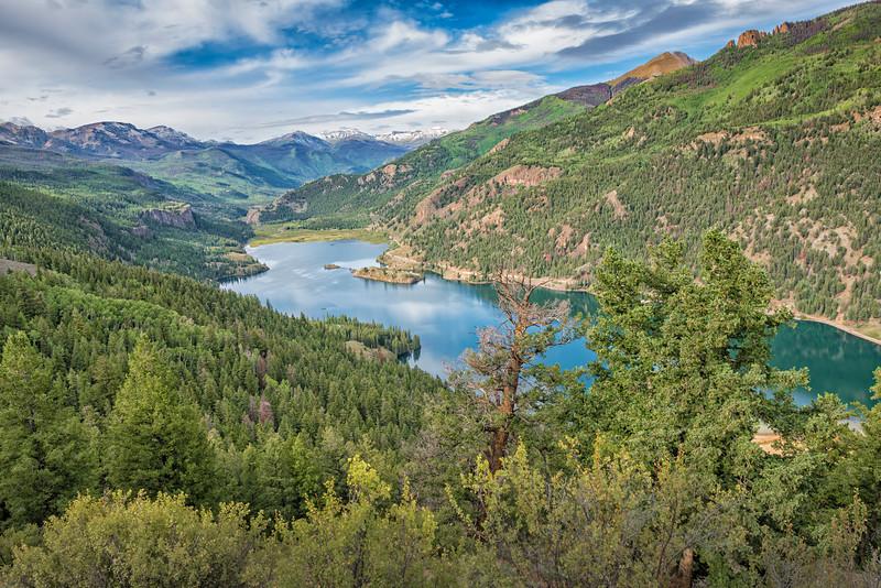 Lake San Cristobal - Elev. 9,003 ft. - Hinsdale Co., CO