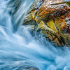 'Rushing....Gushing' - The Crystal River Falls beneath 'The Mill'