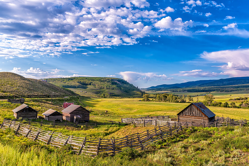 'The Spread' - A Mountain Ranch - Ohio Creek Valley, Gunnison Co, CO