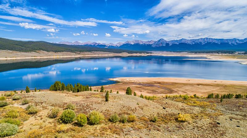 Taylor Lake Reservoir  (elev. 9400 ft) - Gunnison Co., CO.