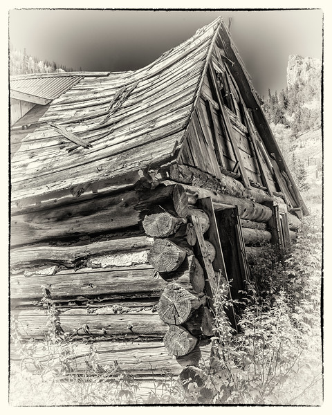 'Leave the Paper on the Porch' - A deserted Miner's Cabin