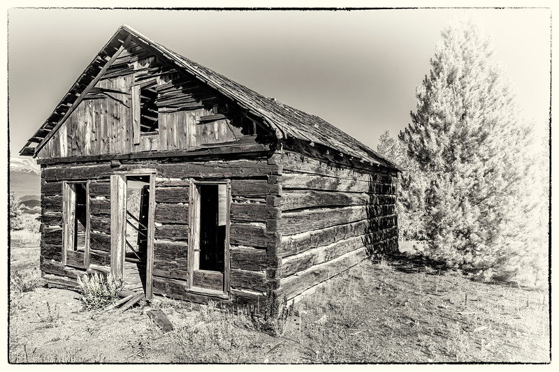 Squared Timber Miner's Cabin