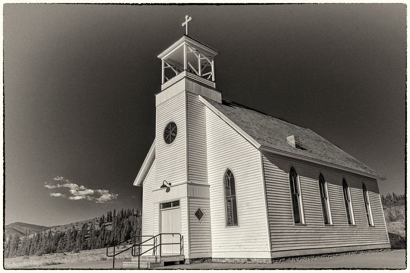 Sunnyside Chapel - Formerly Creede Catholic Church, Mission Church of the Immaculate Conception (1897)