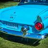 'Water Wonderland' - 1955 Ford Thunderbird - 2021 Gunnison Auto Show