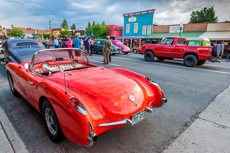 The Cruise In -2021 Gunnison Car Show