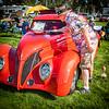 'Detailing 'er Down' - 1939 Ford Roadster  (Entry #40) - 2021 Gunnison Car Show