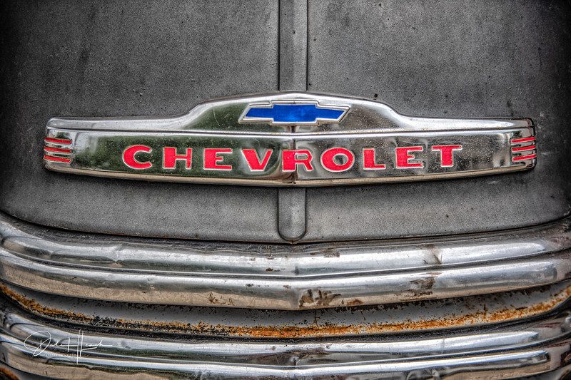 1952 Chevy Pickup Hood Ornament