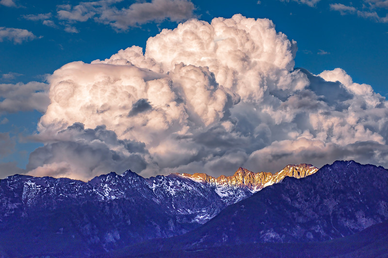 'Purple Mountains Majesty'' - The Absaroka Range