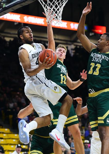 Colorado Sacramento State NCAA Men's Basketball