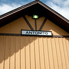 The Antonito station where we boarded our train.