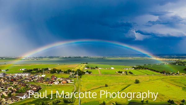Rainbow over Longmont