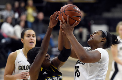 Colorado vs Southeaster Louisiana Women's Hoops
