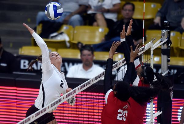 CU vs Utah Volleyball