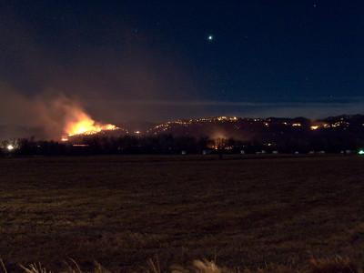 2009.01.07 Boulder County fires