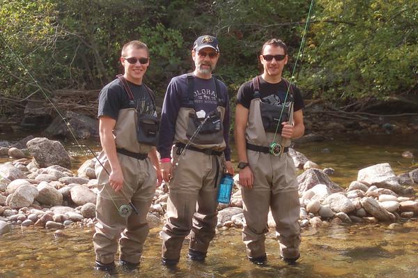 Fishing Sept Joel, Nick and Brett